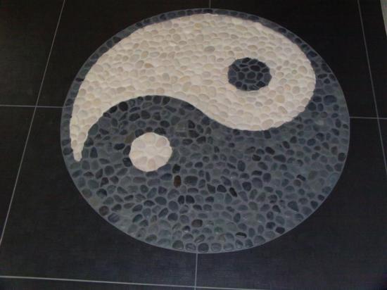 Yinyang for Salle de bain yin yang
